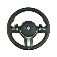 Руль БМВ М с обогревом и лепестками для BMW 3-Серии F30/F31