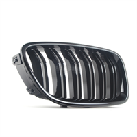 Передняя решетка радиатора - Правая черная глянцевая M5 кузов F10