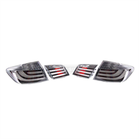 Комплект задних Рестайлинговых фонарей White Line BMW F10
